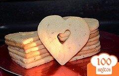 Фото рецепта: «Песочные сердечки»