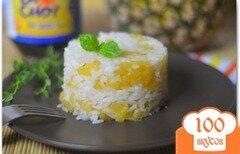 Фото рецепта: «Рис с ананасом»