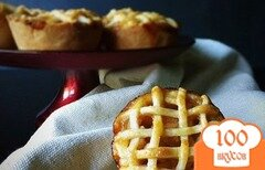Фото рецепта: «Яблочные мини-пироги»
