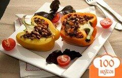Фото рецепта: «Запеченный перец с мясом»