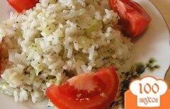 Фото рецепта: «Капуста с рисом и базиликом»