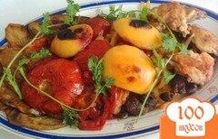 Фото рецепта: «Жаркое-ассорти из овощей и фруктов»