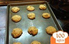 Фото рецепта: «Овсяное печенье с грецкими орехами»