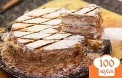 """Фото рецепта: «Классический торт """"Наполеон""""»"""