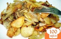 Фото рецепта: «Картошка жареная с грибами»