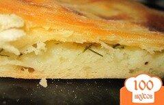 Фото рецепта: «Пирог с картофелем и сыром»