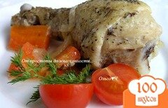 Фото рецепта: «Курица в соусе Эстрагон (в мультиварке)»