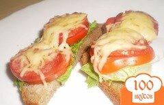 "Фото рецепта: «Бутерброды ""К завтраку""»"