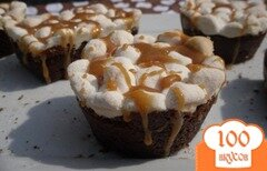Фото рецепта: «Кексы брауни»