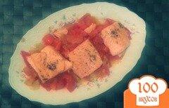 Фото рецепта: «Сёмга на овощной подушке»