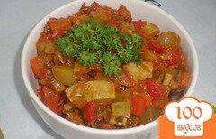 Фото рецепта: «Овощное рагу с грибами»
