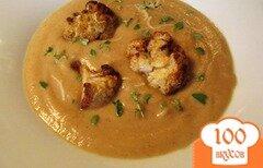 Фото рецепта: «Суп из запеченной цветной капусты»