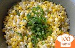 Фото рецепта: «Смесь из кукурузы и перца халапеньо»