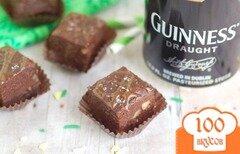 Фото рецепта: «Шоколадная помадка с пивом и орехами»