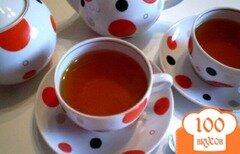 Фото рецепта: «Ройбуш с мятой и апельсиновой цедрой»