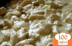 Фото рецепта: «Куриные грудки в кремово-горчичном соусе»