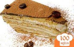 Фото рецепта: «Торт «Кофейный аромат»»