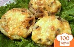 Фото рецепта: «Кабачки с грибами в духовке»