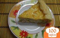 Фото рецепта: «Киш с курицей и перцем»