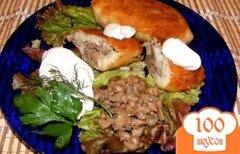 Фото рецепта: «Зразы с мясом и грибами»