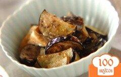 Фото рецепта: «Острая закуска из баклажанов с грибами»