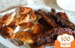 Фото рецепта: «Маринованные говяжьи ребрышки на гриле»
