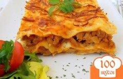 Фото рецепта: «Мясная лазанья с соусом бешамель»