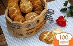 Фото рецепта: «Немецкие булочки»