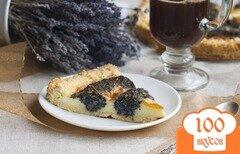 """Фото рецепта: «Творожно-маковый пирог """"Колечко""""»"""