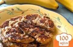 Фото рецепта: «Банановые блины»