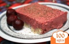 Фото рецепта: «Миндально-ягодный десерт»
