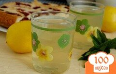 Фото рецепта: «Тоник с мятой и лимоном»