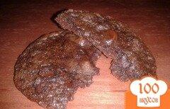 Фото рецепта: «Шоколадное печенье с нутеллой»