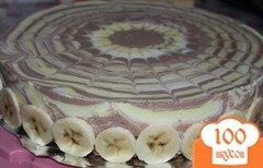 "Фото рецепта: «Торт ""Творожное трио""»"