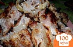 Фото рецепта: «Шашлык в маринаде из майонеза»