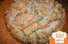 Фото рецепта: «Большой запеченный бутерброд»