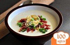 Фото рецепта: «Суп-пюре из картофеля с беконом»