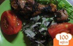 Фото рецепта: «Шашлык из куриных ножек»
