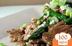 Фото рецепта: «Стир-фрай из говядины»