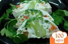 Фото рецепта: «Заливное с курицей и овощами.»