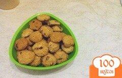 Фото рецепта: «Овсяное печенье с солью и изюмом»