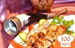 Фото рецепта: «Лимонные шашлычки из индейки»