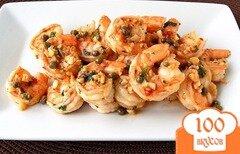 Фото рецепта: «Чесночные креветки»