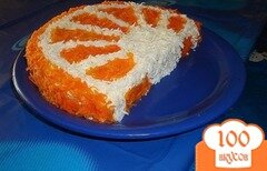 Фото рецепта: «Салат Апельсиновая долька»