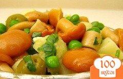 Фото рецепта: «Салат с опятами»
