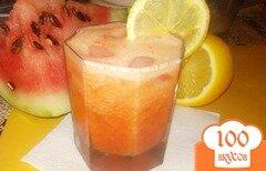Фото рецепта: «Арбузный напиток с апельсиновым соком»
