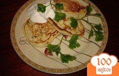Фото рецепта: «Луковые оладушки»