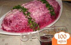 Фото рецепта: «Сельдь под шубой с редисом»