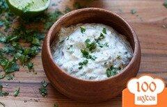 Фото рецепта: «Майонез с зеленью»