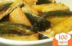 Фото рецепта: «Гарнир из картофеля и цукини»